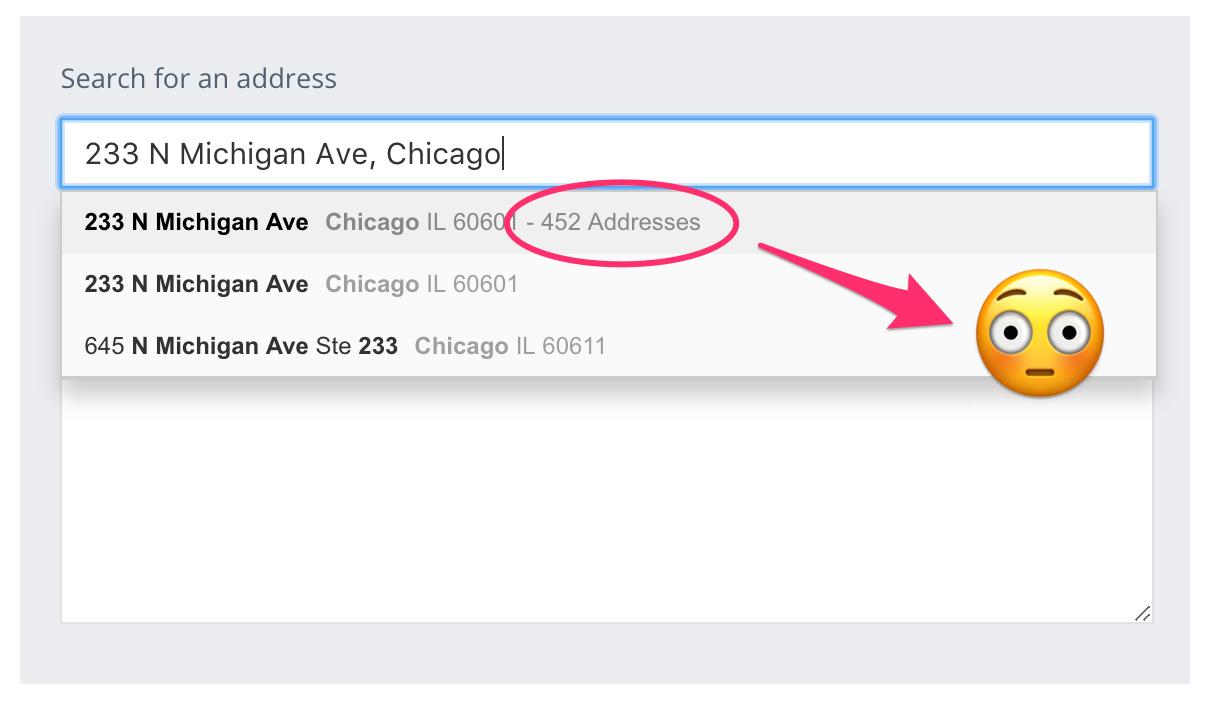 Addressy.com Address Autocomplete